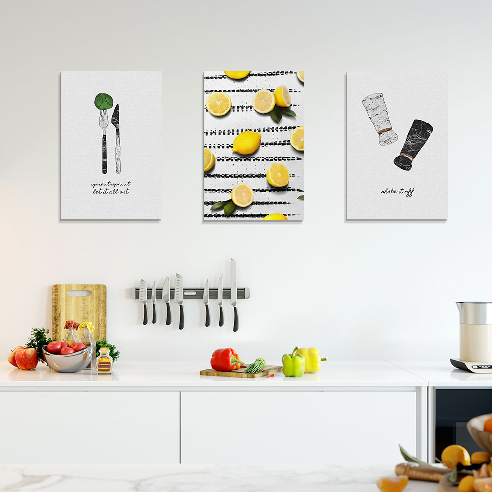 Funny Kitchen Gallery Wall