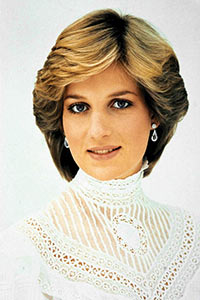 Princess Diana On White Portrait, Globe Photos, Inc.