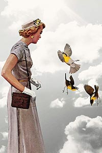 Lady In Gray, Heather Landis