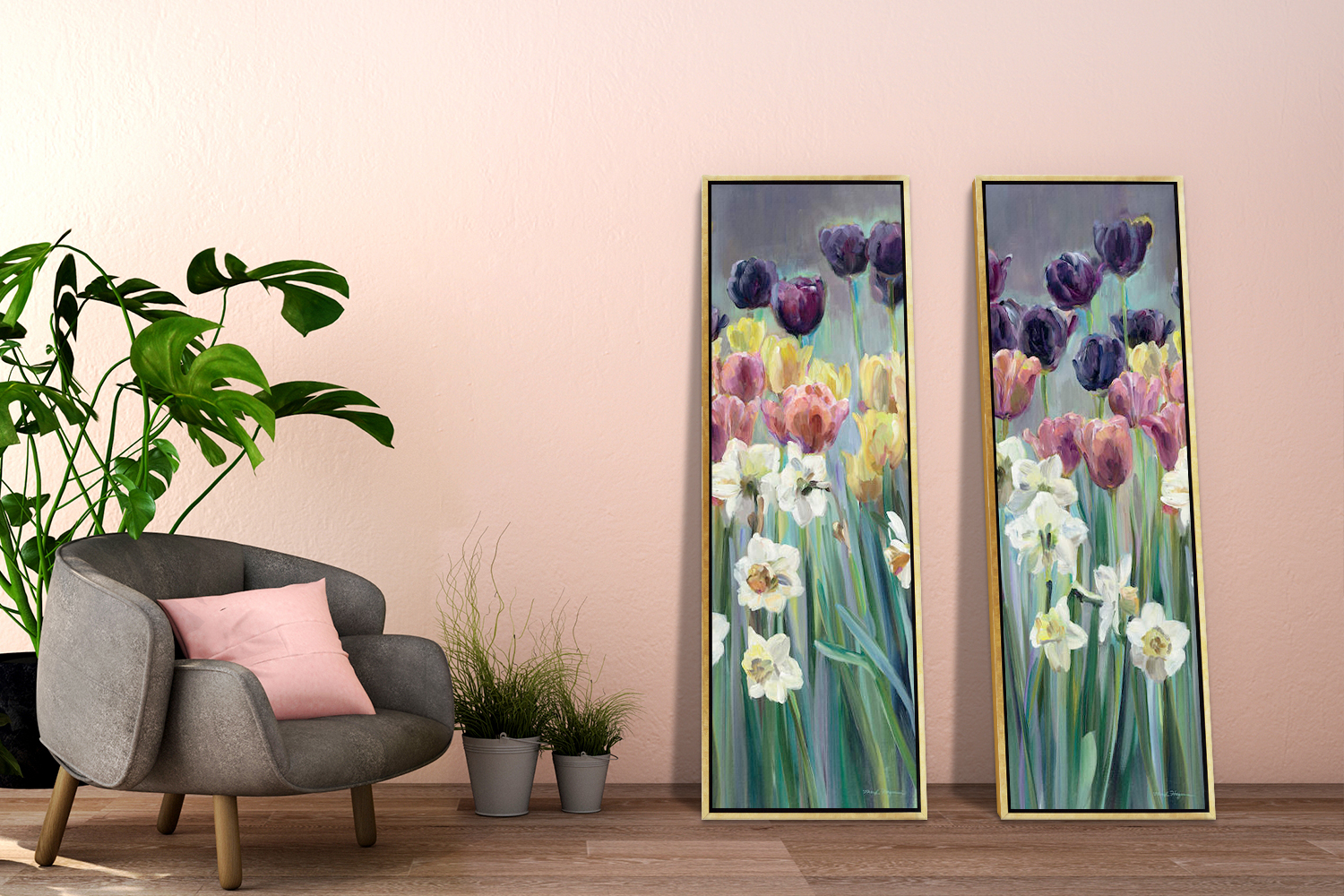 spring art decor