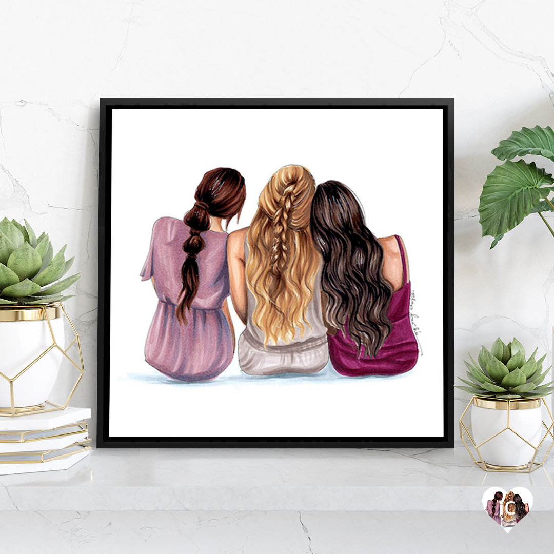 The 3 of Us by Elza Fouche