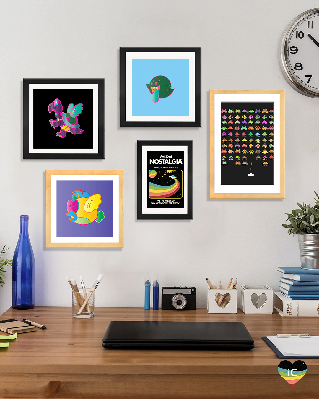 Video Game Canvas Art