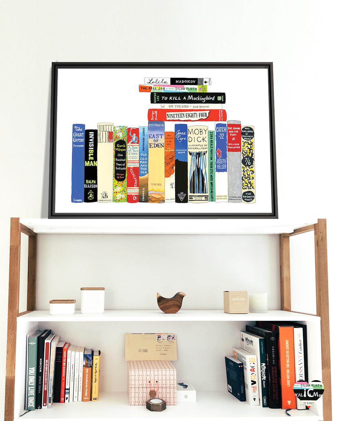 Classic Novels by Ideal Bookshelf