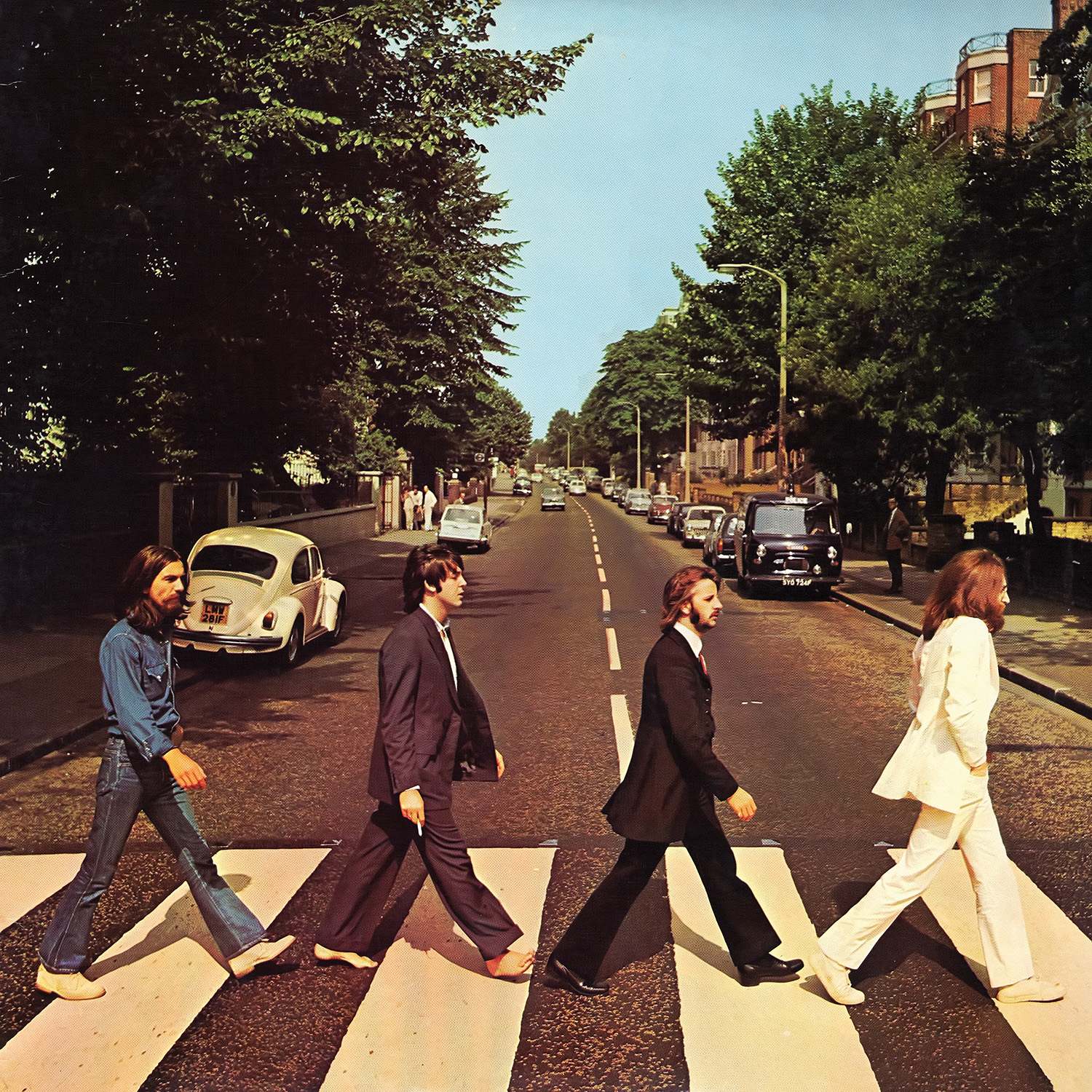 Print of Abbey Road album cover