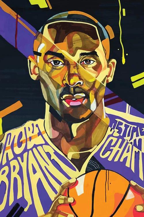Kobe Bryant abstract