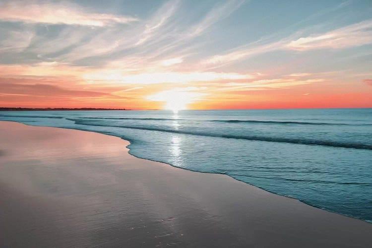 Sunrise over beach by iCanvas artist Marcus Prime