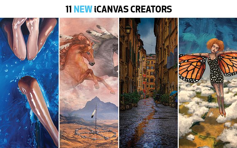 new creators new icanvas creators new icanvas artists