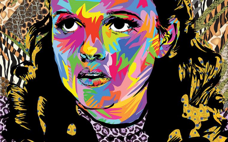 Gay icons Judy Garland art