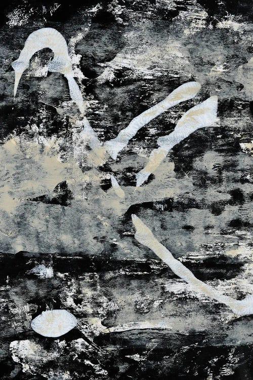 Black and white abstract art by new icanvas creator Alyssa Hamilton