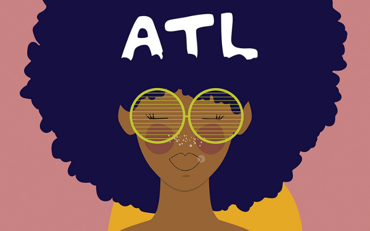 Atlanta art for Art Prints Inspired by Georgia by iCanvas