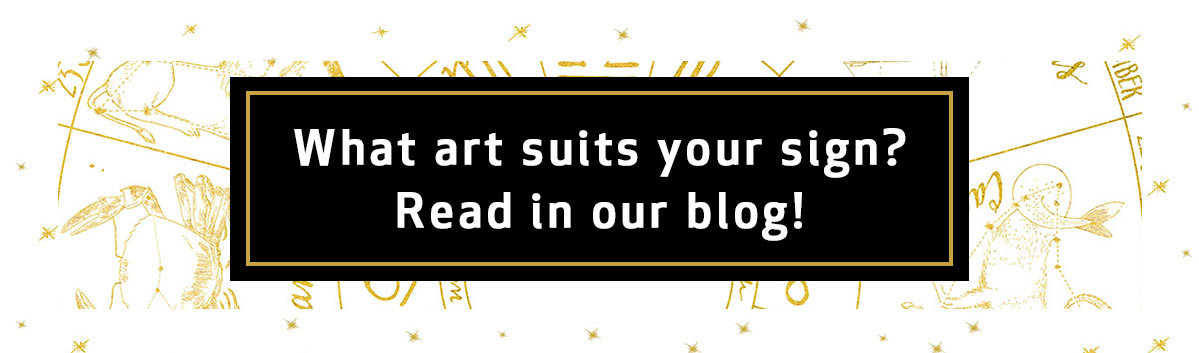 What art suits you sign? Read in our blog!